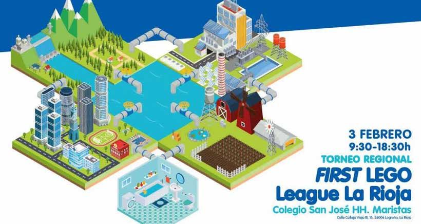 Medio millar de niños y jóvenes en el torneo robótico First Lego League