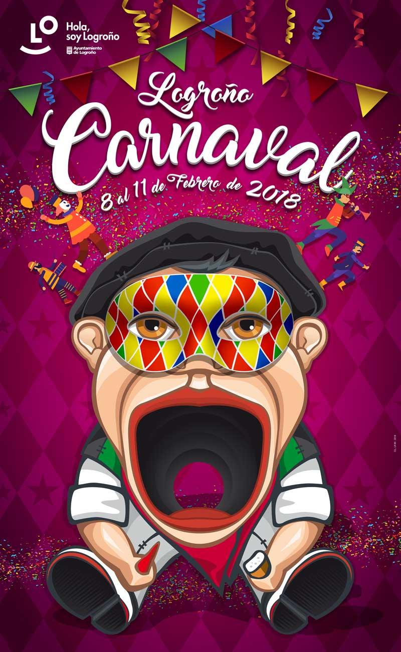 cartel-carnaval-Logrono-2018
