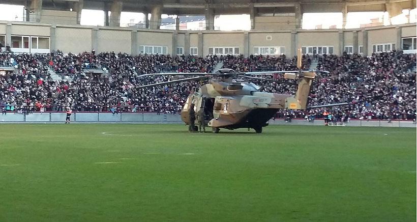 El 'Caimán' ya está listo para volar