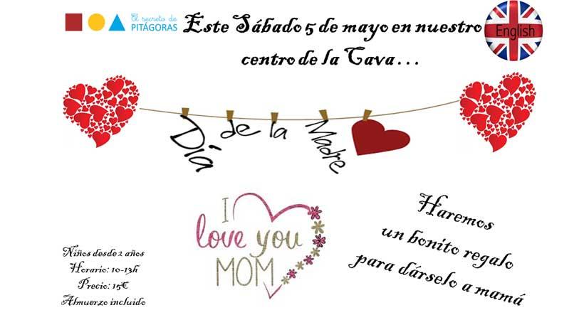 Taller para el 'Día de la Madre', en El Secreto de Pitágoras