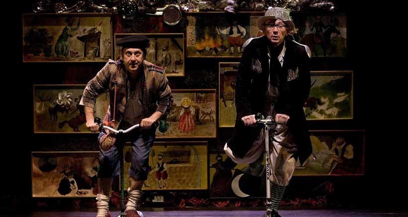 Espectáculo de clown quijotesco, en la Sala Negra