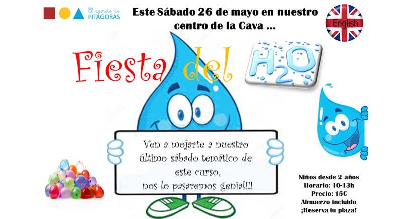 Fiesta del Agua en El Secreto de Pitágoras