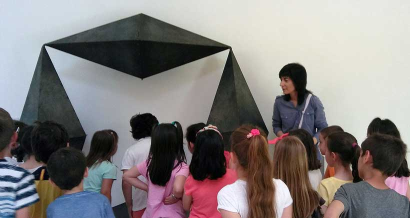 SCULTO programa un taller familiar para conocer la escultura contemporánea