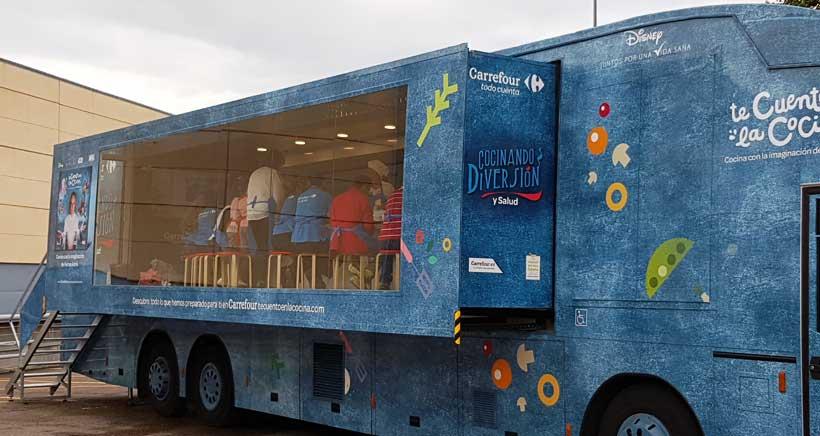 caravana-de-la-salud-en-Carrefour-Logrono