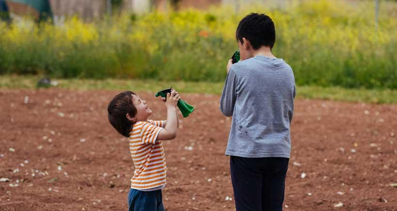 Visitas  con niños a la huerta de Rizos