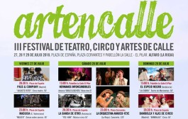 Teatro, circo y música protagonizan el III Artencalle, en Alfaro