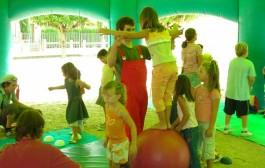 Una escuela de circo en el Festival Hola Verano