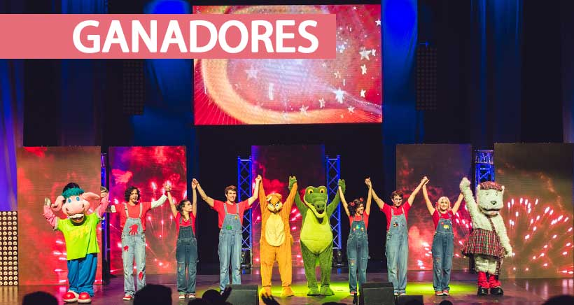 Ganadores de entradas para Cantajuego