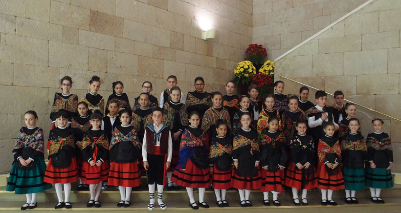 Ellos son los 34 niños representantes de la ciudad en San Bernabé