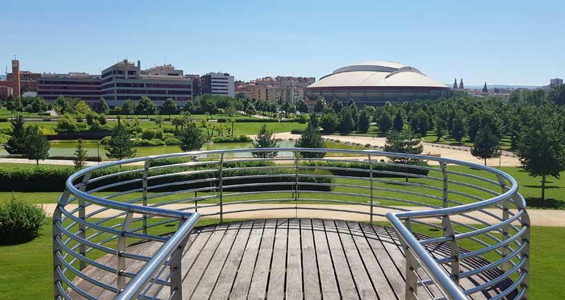 Espacios para ir de pícnic: Parque de La Ribera de Logroño
