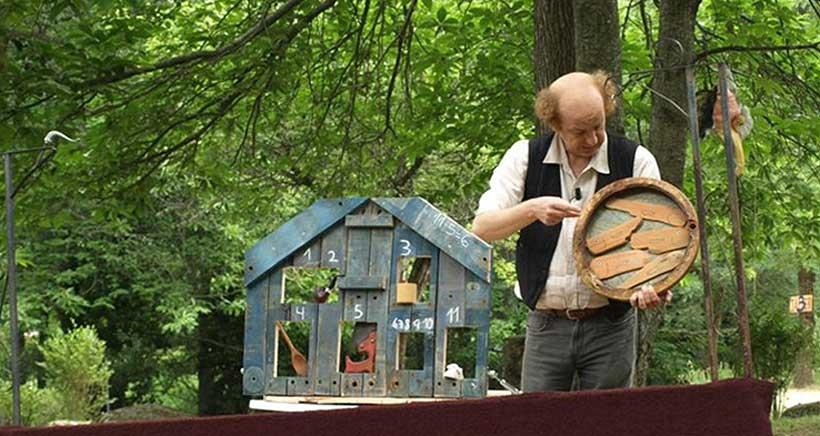 Títeres y cuentos con Rodorín, en el Festival Hola Verano