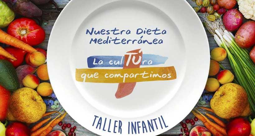 Taller infantil sobre la dieta mediterránea