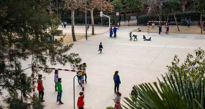Mejorar los patios escolares, una de las propuestas más votadas por los logroñeses