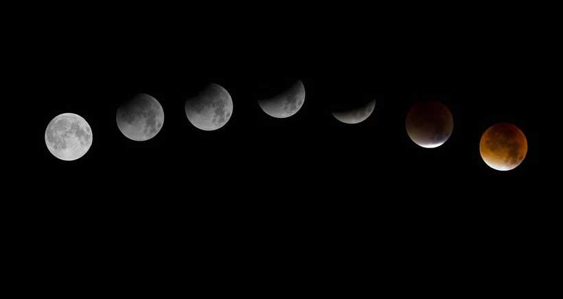 Consejos para ver el Eclipse Total de Luna en La Rioja