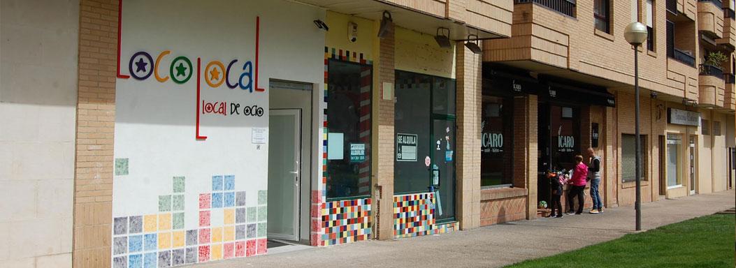 Locolocal, alquiler para celebraciones en Cascajos