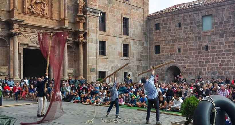 Teatro, música y danza en la cuna del castellano: Festival 'San Millán Escenario Vivo'