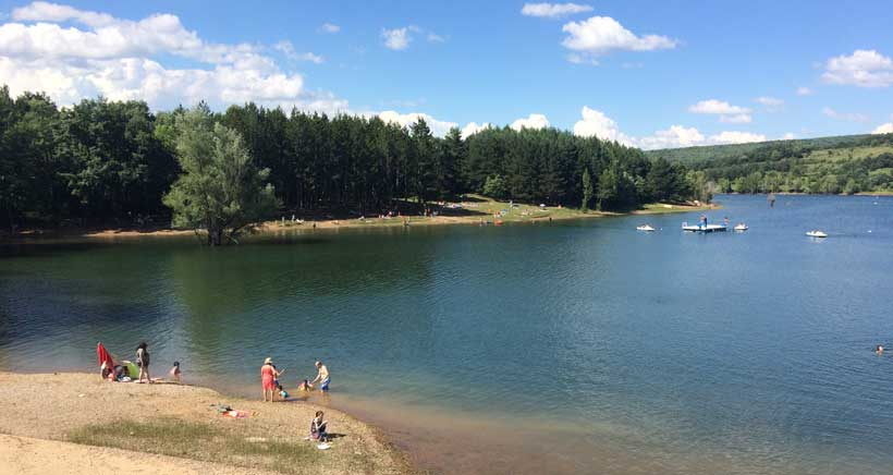 Espacios para ir de pícnic: Pantano de Ortigosa