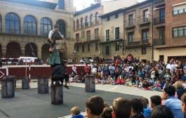 Cita con el circo en Viana