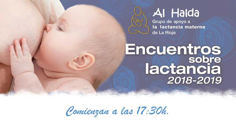 Información sobre lactancia con Al Halda (calendario de charlas)