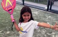 Clases de pádel para niños en Pádel La Ribera
