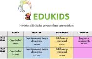 Extraescolares en EduKids: estimulación infantil y aprendizaje creativo