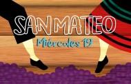 Miércoles 19 de septiembre. Programa San Mateo 2018