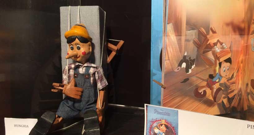 Exposición sobre Pinocho en La Merced