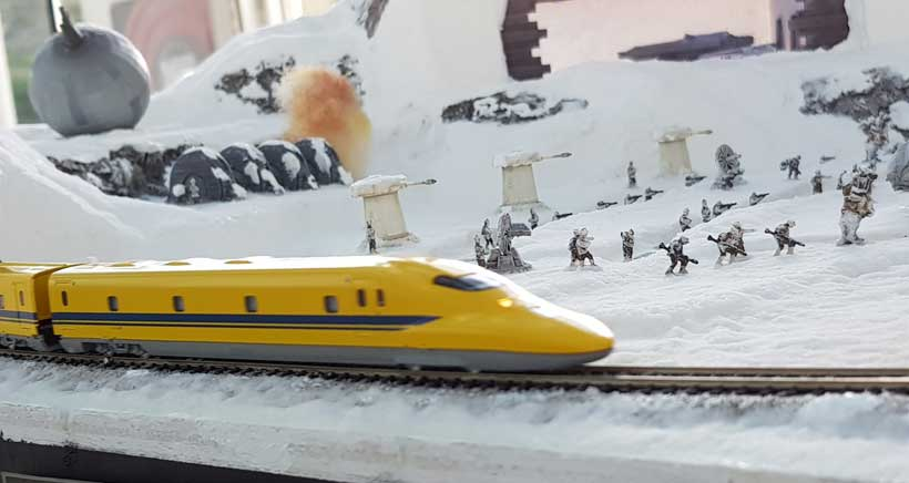 ¡A todo tren! en el Museo Würth La Rioja