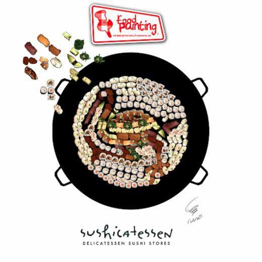 food-painting-en-sushicatessen