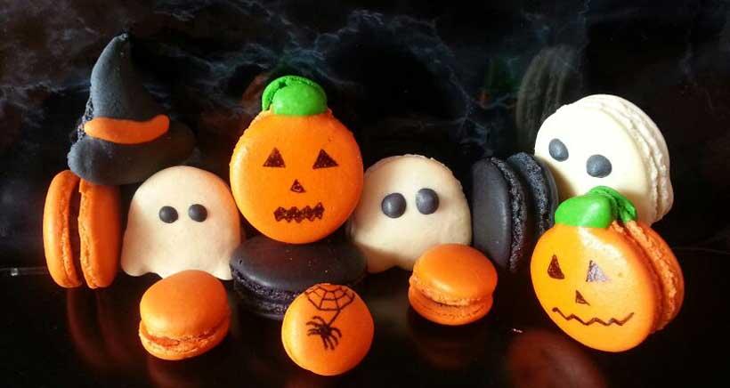 Prepara galletas de Halloween mientras aprendes francés