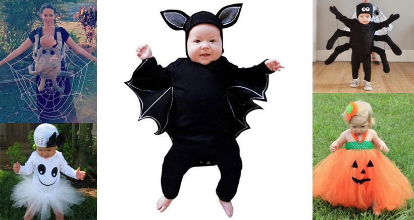 7 irresistibles disfraces de Halloween para tu bebé