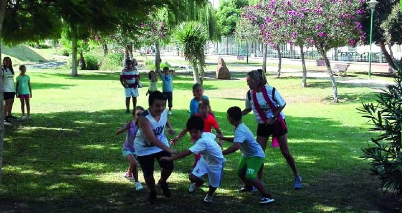 Juegos y actividades gratuitas en el Parque de La Ribera