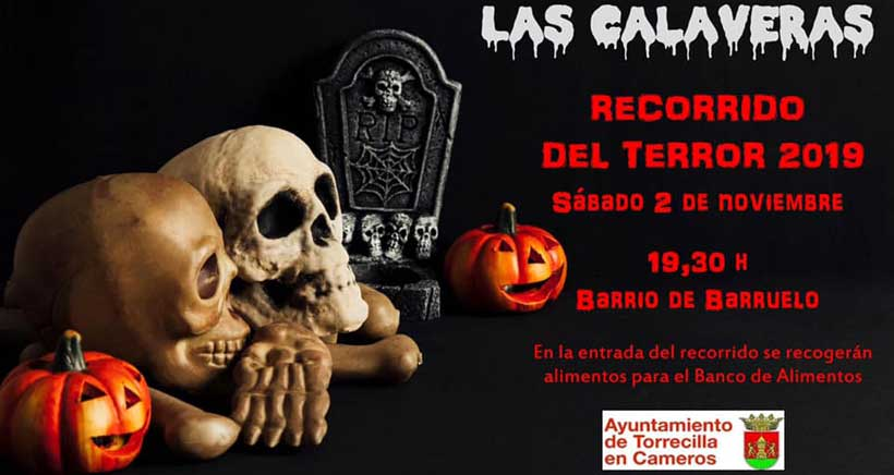 """Fiesta de las Calaveras en Torrecilla: """"bienvenidos"""" a Barruelo"""