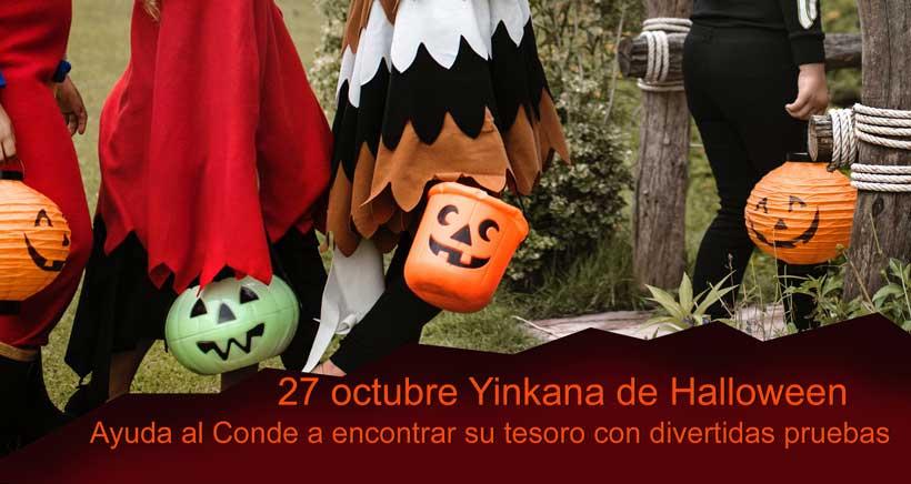 Yincana de Halloween en Bodegas Amézola de la Mora