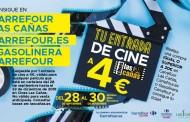 Vete al cine por 4 euros en Las Cañas