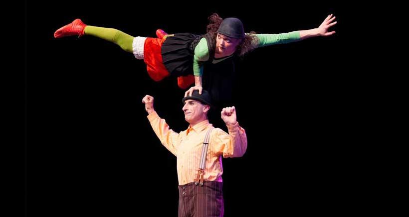 Espectáculo de clown, teatro y circo en el Bretón