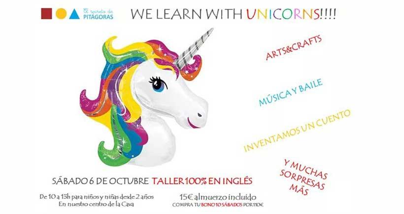 El mundo mágico de los unicornios en los talleres de Pitágoras