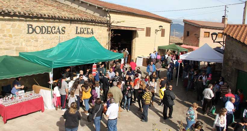 Domingo solidario en Bodegas Lecea