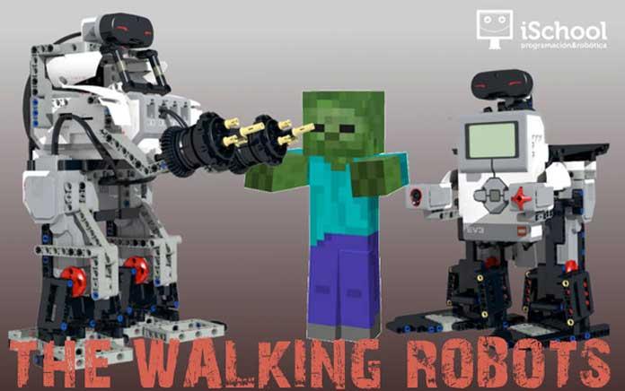 The Walking Robots: los campamentos tecnológicos para Navidad de iSchool