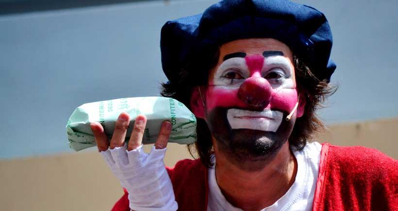 Espectáculo de clown en la Sala Negra