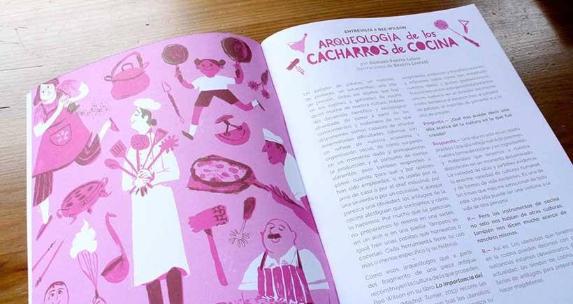 Presentación de ¡La Leche! revista cultural para niños