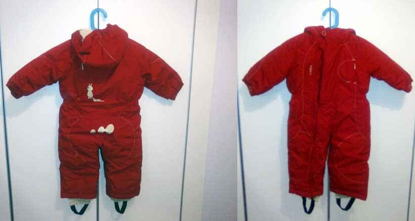 Se vende: ropa de nieve para bebé
