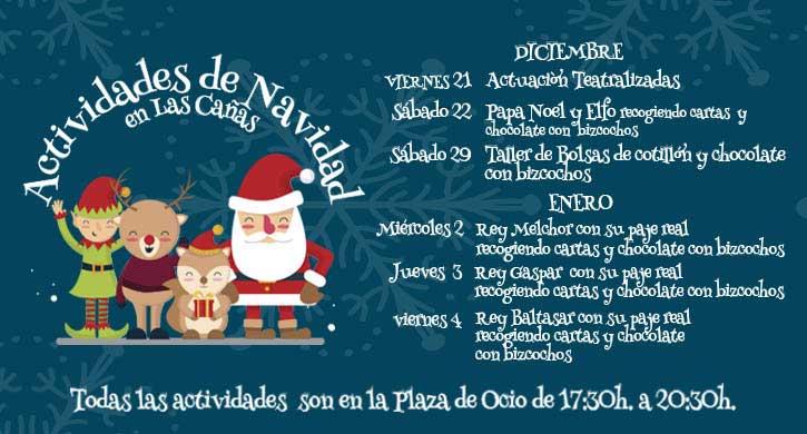 Actividades-de-Navidad-en-parque-comercial-las-canas