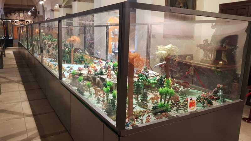 Belen Jurásico de Playmobil en Santo Domingo de la Calzada