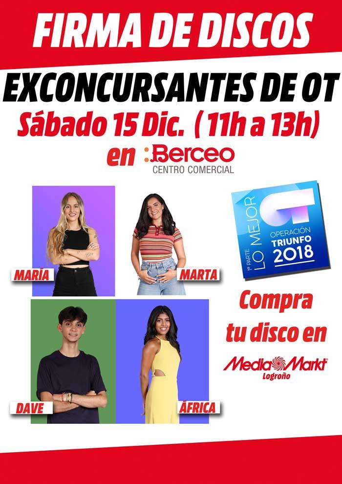 Firma-discos-Operación-Triunfo-Centro-Comercial-Berceo