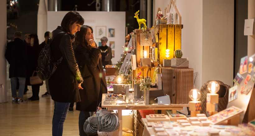 Regalos de diseño en el Open Mercado del Museo Würth