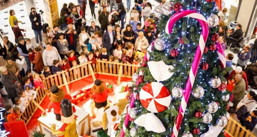 El decorado de Navidad que cobra vida
