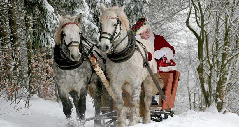 Papá Noel te recibe en su granja