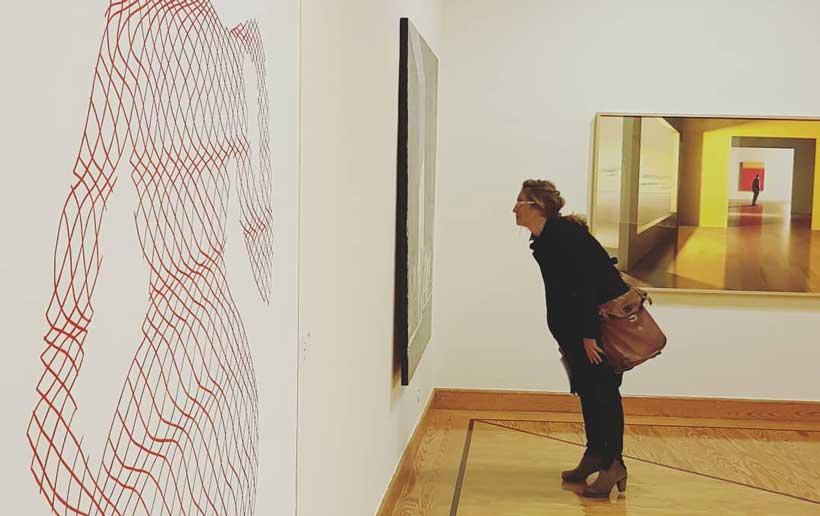 Visita la nueva exposición de arte contemporáneo del Parlamento de La Rioja