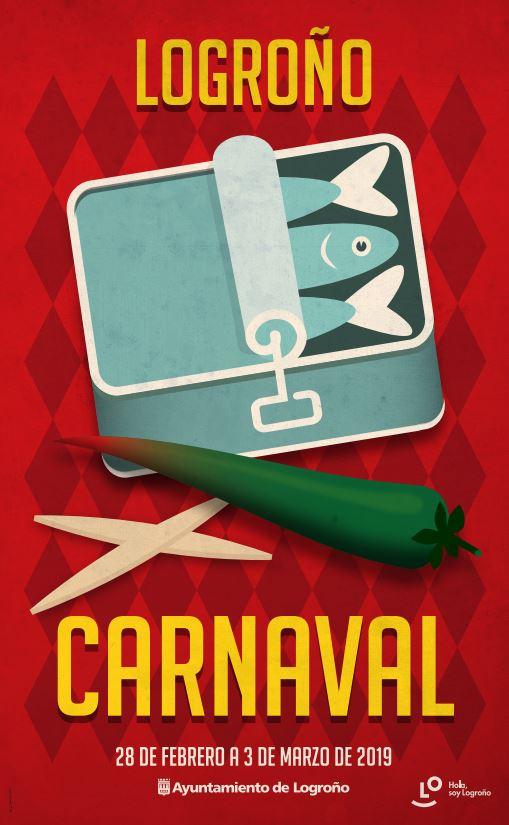 Cartel Carnaval Logrono